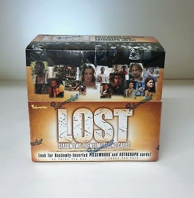 Lost Season 2, Season Two - Sealed Trading Card Hobby Box - Inkworks 2006