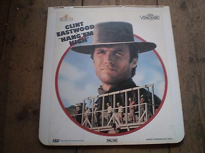 Hang Em High,Clint Eastwood Vintage Video Disc,Great Condition,Collectors Item