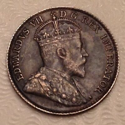 - Canada 1907  Five 5 Cents Edward VII