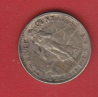 Pilipinas 20 Cents 1945 Silver