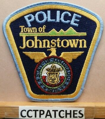 Town Of Johnstown, Colorado Police Shoulder Patch Co