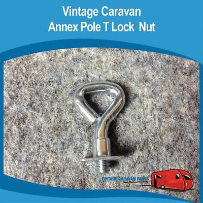 Caravan ANNEX POLE T LOCK NUT x 2 Trailer Vintage Viscount, Franklin A0111
