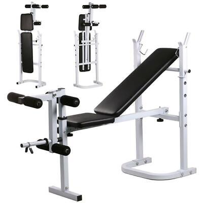 Gym Workout Bench Press Weight Lifting Benches 440 lb Weights Capacity