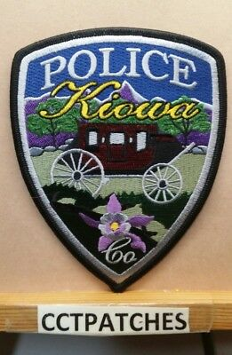Kiowa, Colorado Police Shoulder Patch Co