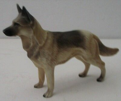 Vintage Hartland Roy Rogers Dog Bullet German Shepherd Figure (Light)