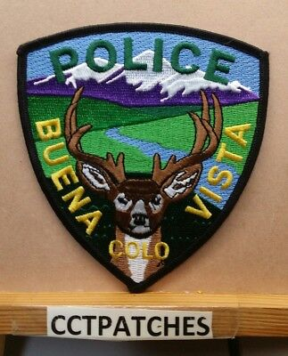 Buena Vista, Colorado Police Shoulder Patch Co
