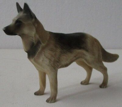 Vintage Hartland Roy Rogers Dog Bullet German Shepherd Figure (Dark)