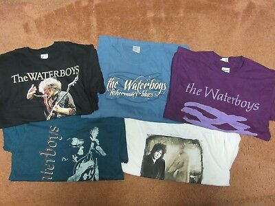 New - Waterboys 15 Mens + 1 Bonus Band Concert Music Wholesale Shirts Size Small