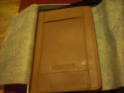 Levenger Leather Deluxe Pocket Briefcase New