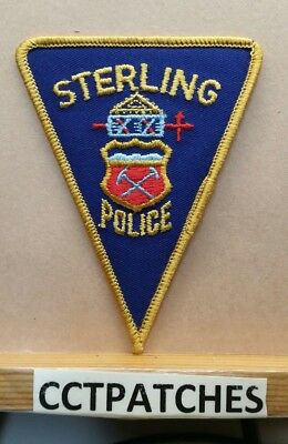 Sterling, Colorado Police Shoulder Patch Co
