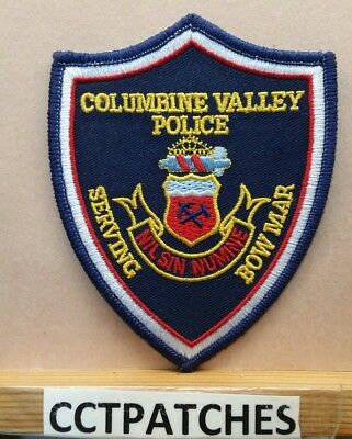 Columbine Valley, Colorado Police Shoulder Patch Co
