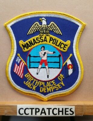 Manassa, Colorado Police Shoulder Patch Co