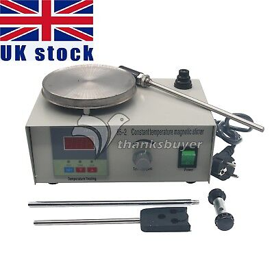 Laboratory Magnetic Stirrer with Heating Plate 220V Hotplate Mixer 85-2 UK