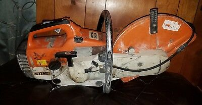 Stihl TS 400 Cutquik Professional Cut-Off Saw Heavily used working 64cc