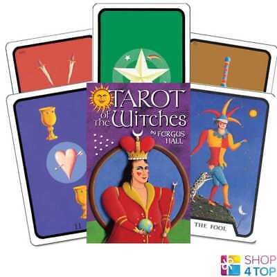 Tarot Of Witches Premier Edition Deck Cards Esoteric Telling Us Games Systems