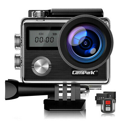 Campark X20 4K Sports Action Kamera WiFi FHD Touch Screen 20MP Wasserdichte 32GB