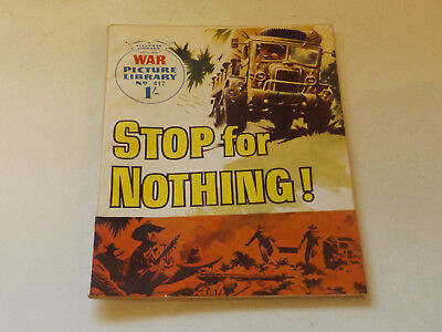 WAR PICTURE LIBRARY NO 417!,dated 1968!,V GOOD for age,great 50!YEAR OLD issue.