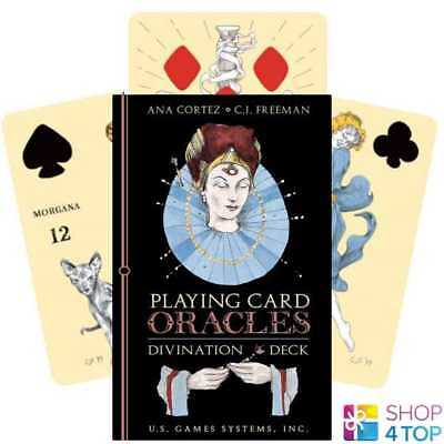 Playing Cards Oracle Divination Deck Cards Esoteric Telling Us Games Systems New