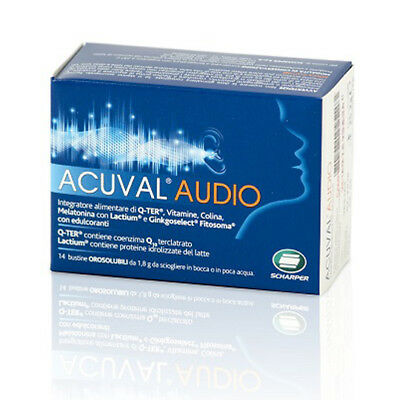 Acuval Audio Integratore 14 Bustine.
