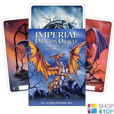 Imperial Dragon Oracle Deck Cards Esoteric Telling Us Games Systems New