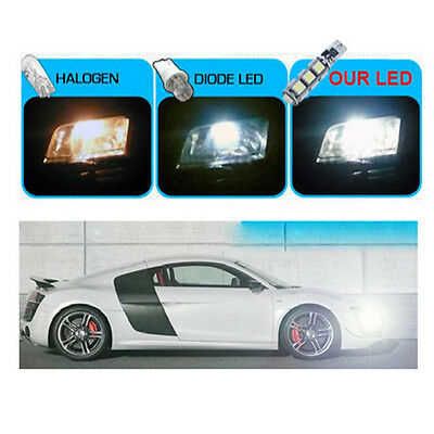 4x Canbus W5W T10 13SMD LED Side Bulbs White Wedge Car Light 12V 2.5W 6000K Lamp