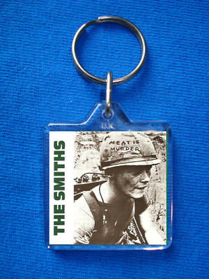 The Smiths-Meat Is Murder Keyring Morrissey