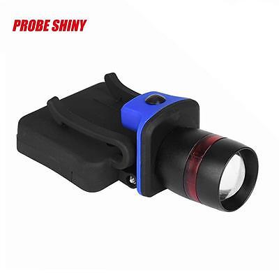 3000 LM Zoomable Q5 LED Torch Headlamp Clip-on Head Cap Hat Light AAA Battery G2