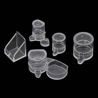 Ant Insect Feeder Pets Clear Acrylic Feeding Bowl Cage Food Water Holder Supply