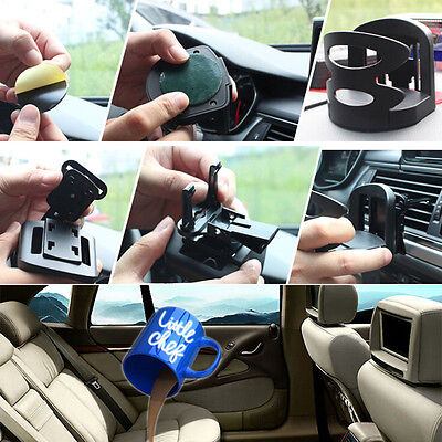 Universal In Car Drinking Cup Bottle Can Air Vent Mount Adjustable Holder