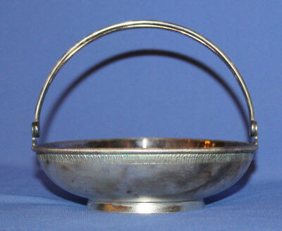 Vintage Russian Silver Plated Basket