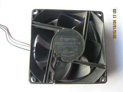 FOR SUNON EE80251S1-D170-F99 Projector Cooling Fan 12V 1.7W 3-Pin 80mm