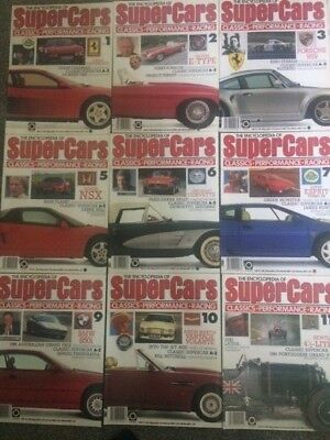 The Encyclopedia Of Supercars Choose Any 1 From List