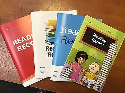 High quality reading record books to record child's reading progress