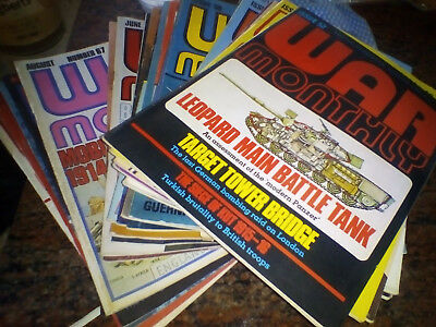 WAR MONTHLY Magazine Issues 52- 72