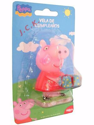 7.5cm Peppa pig birthday cake candle toppers decorations excludes George pig