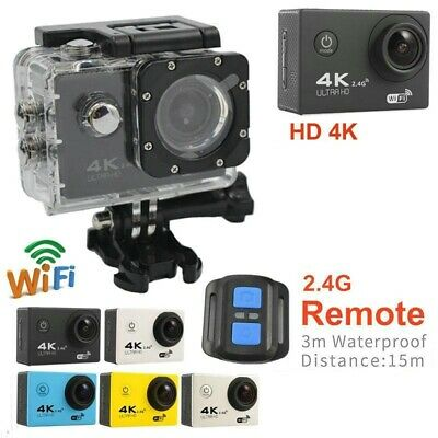 4K Sport Camera Free RC Ultra HD 1080P Sports WiFi Cam Action DV Video Recorder