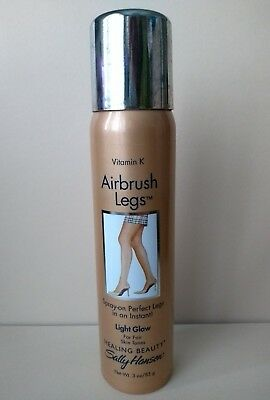SALLY HANSEN AIRBRUSH LEGS LIGHT GLOW spray tan for fair skin tones 85g