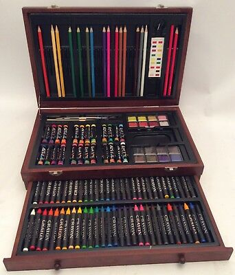 Crayon Set in Wooden Case