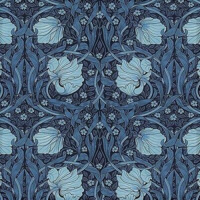 Pimpernel from the Best of Morris Collection - Indigo, made in japan for Moda