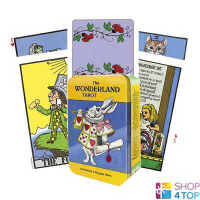 The Wonderland Tarot In A Tin Cards Deck Esoteric Telling Us Games Systems New