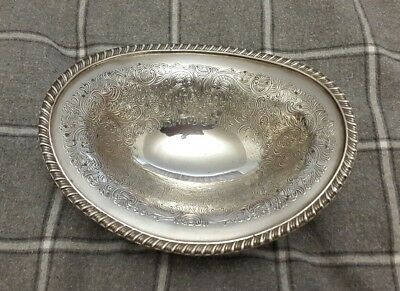 A Lovely Vintage Silver Plated Bowl by Barker Ellis