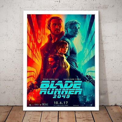 Blade Runner 2049 Movie Film Ryan Gosling Home Decor Print Art Poster - A4 to A0