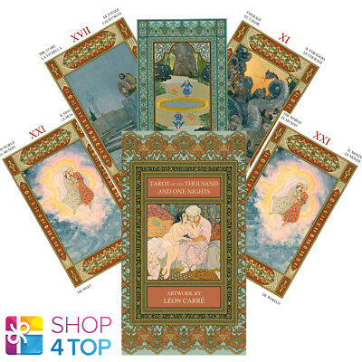 Tarot Of The Thousand And One Nights Deck Cards Vigna Esoteric Telling New