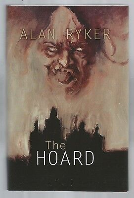 Alan Ryker 'the Hoard' Signed Limited Hc Darkfuse