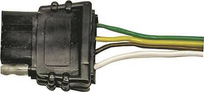 PM V5400B 4-Way Flat Trailer Trunk Connector, 4 P, 4 Wire
