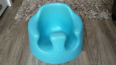 Bumbo Baby Floor Seat and Play Tray Combo Pack (Blue)