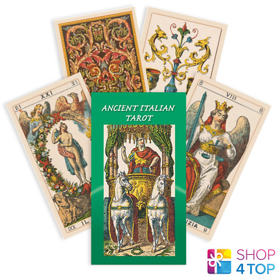 Ancient Italian Tarot Deck Cards  Esoteric Fortune Telling Lo Scarabeo New