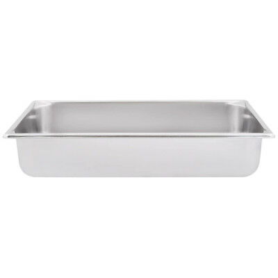 "Super Pan V® Full Size Anti-Jam Stainless Steel Steam Table / Hotel Pan 4"" Deep"