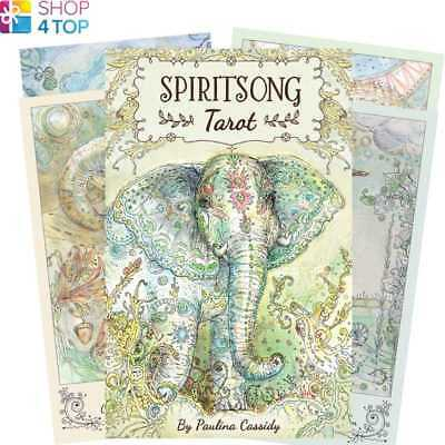 Spiritsong Tarot Deck Cards Paulina Cassidy Esoteric Us Games Systems New