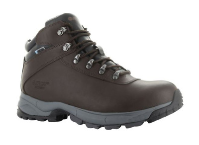 Hi-Tec Mens Eurotrek Lite Waterproof Leather Boot...Up to Size UK15!!